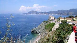 Itálie 2014 - Portoferraio: Spiaggia Delle Viste (Italy, Toscana, Elba)
