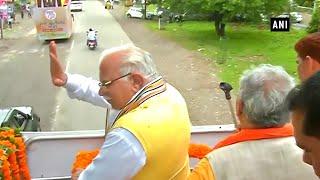 Haryana CM ML Khattar blows poll bugle, kicks off 'jan aashirwad yatra'