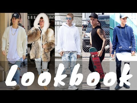 2018 Stylish Latest Justin Bieber Outfits Dressing Style - Lookbook