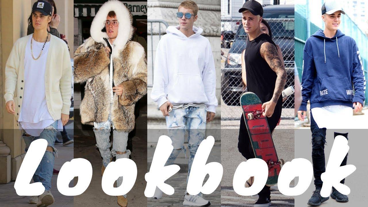 2018 Stylish Latest Justin Bieber Outfits Dressing Style - Lookbook ... 909b33878