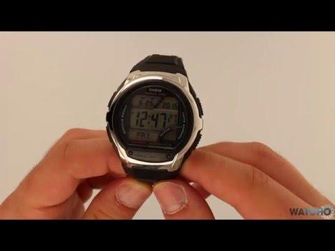 Casio wv-58e-1avef montre-en-main. Fr youtube.
