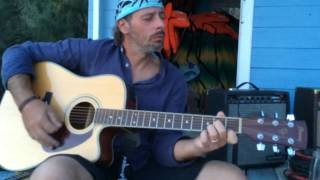 Guitar jam session in Remaiolo Beach - Isola d'Elba