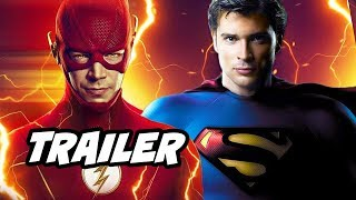 The Flash Season 6 Trailer - Smallville Superman Crisis On Infinite Earths Breakdown