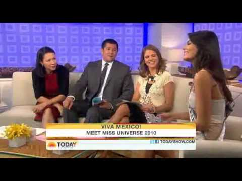 [Vietsub] - Miss Universe 2010 on Today Show
