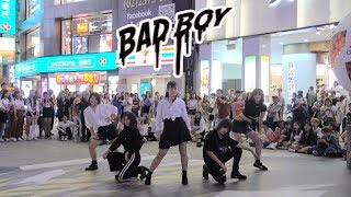 [KPOP IN PUBLIC] RED VELVET 'BAD BOY' DANCE COVER by RENAME from TAIWAN(五團聯合公演)