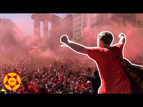 AMAZING scenes: Jamie Webster and 50,000 Reds take over Madrid!   #BOSSArchive