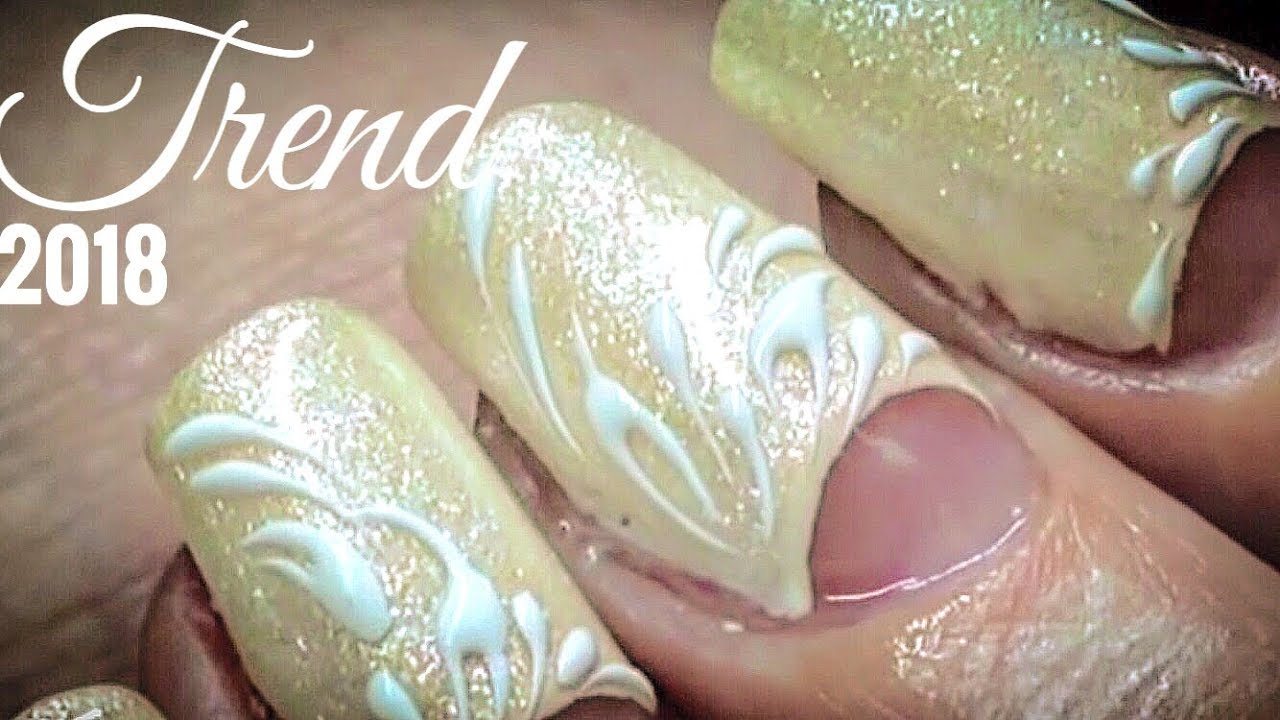 Sculptured nails EXTREME NAIL TUTORIAL of nail extension PERFECT ...