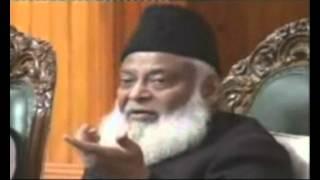 """Dr. Israr accepted real meaning of """"rafa"""" and """"nuzul"""" - Islam Ahmadiyya"""
