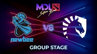 Newbee vs Team Liquid - MDL Macau 2019: Group Stage