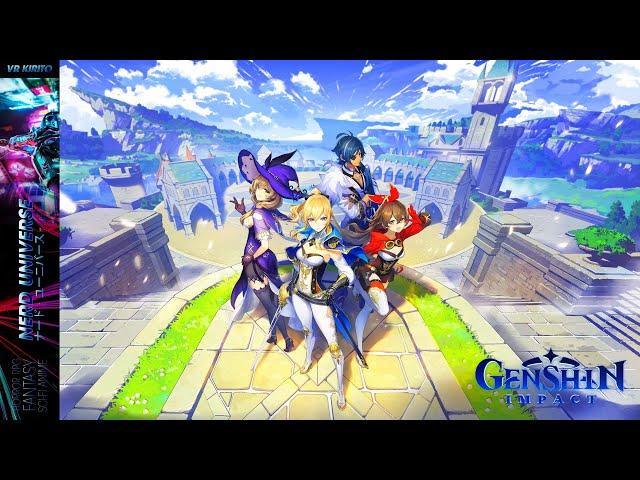 Genshin Impact - PC Closed Beta 3 - Über eine Stunde Gameplay  - Tag 1 - Deutsch ☯ Livestream