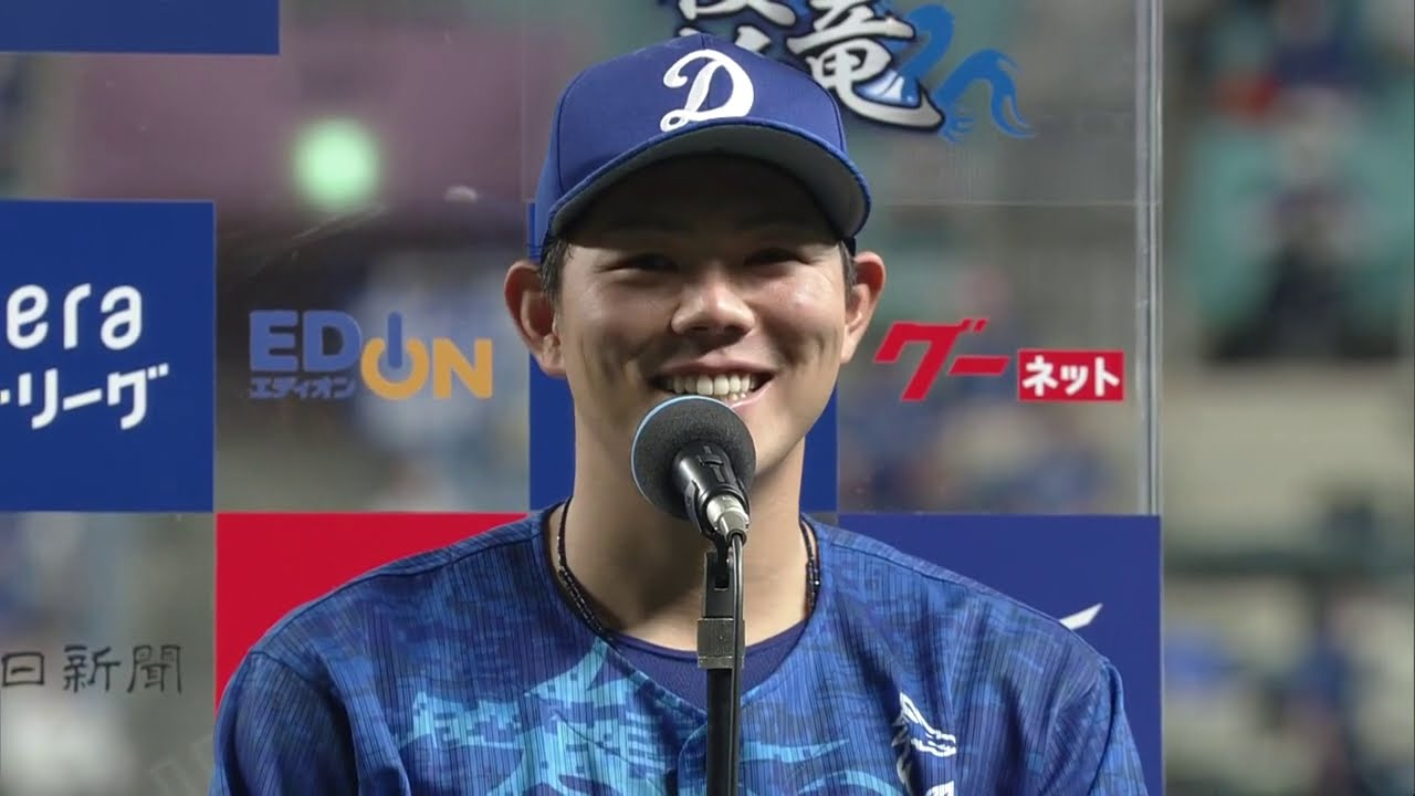 9/23 東京ヤクルト戦 ヒーローインタビュー 高橋周平選手
