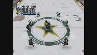 Fox Sports NHL Championship 2000 gameplay (Playstation)
