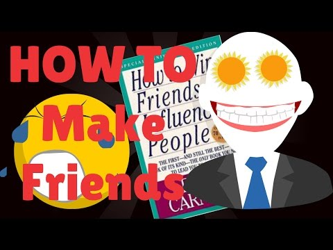 How to Make Friends   How to Win Friends and Influence People Animation Notes