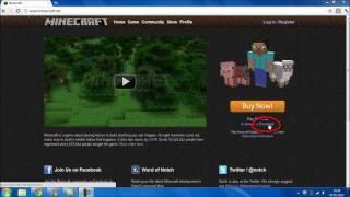 Minecraft spielen [Registrieren, Installieren, Kaufen, Spielen] {Tutorial#01}