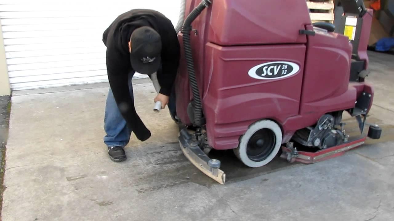 scrubbing machines floor floors scrubber equipment international minuteman watch youtube by scrubbers cleaning