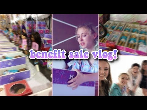 American Girl Benefit Sale Vlog! 2018