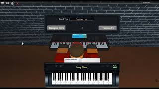 Ocean Man - The Mollusk by: Ween a ROBLOX piano.