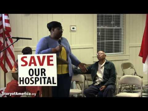 """Save Our Hospital"" Open Forum, Belhaven, NC"