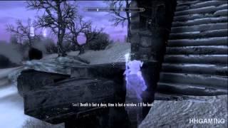 Skyrim Dawnguard - walkthrough part 13 HD gameplay dlc add on expansion - Vampire lord