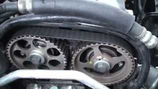 Chevy Aveo timing belt and timing marks part1