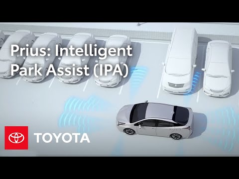 Toyota How-To: Intelligent Park Assist (IPA) | 2016 Toyota Prius | Toyota