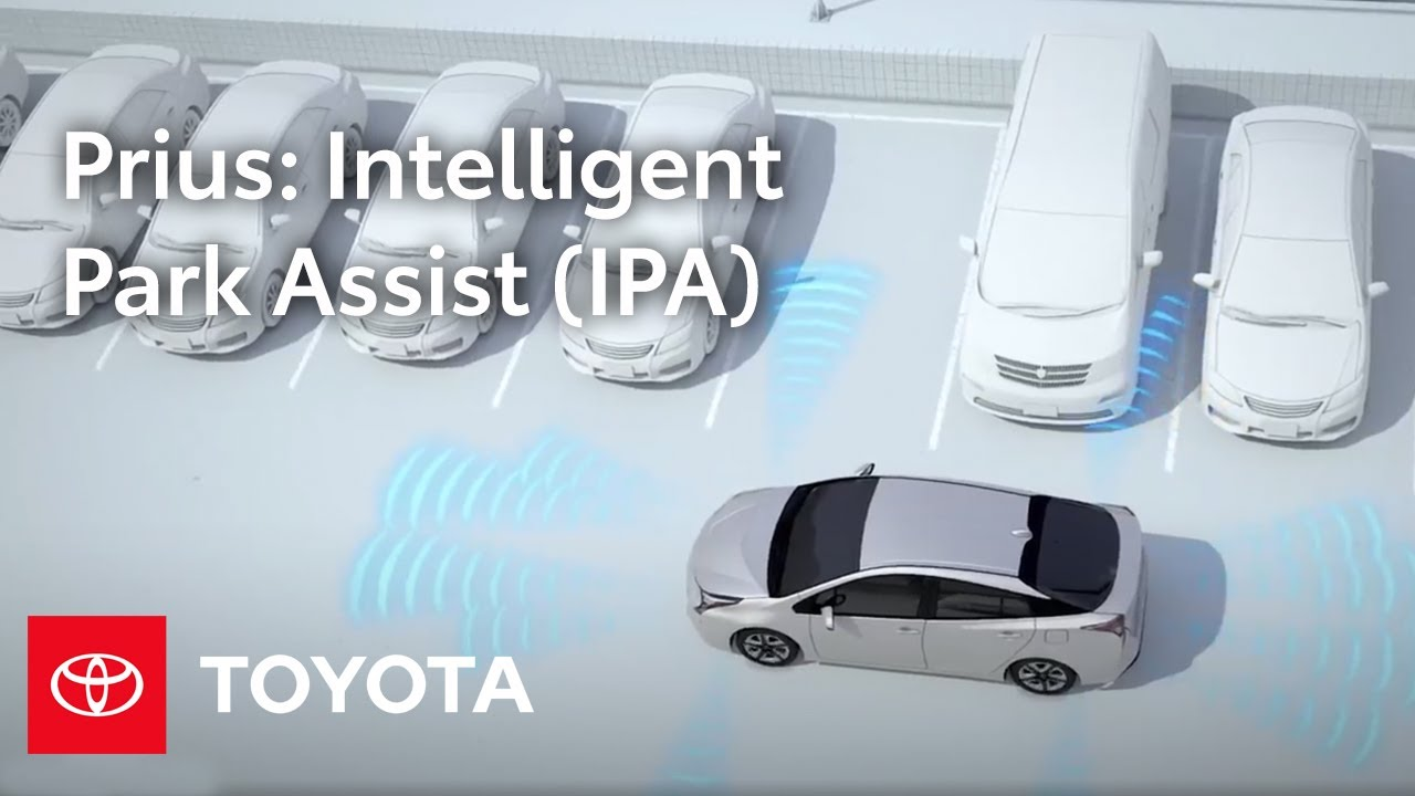2016 toyota prius how to intelligent park assist ipa toyota