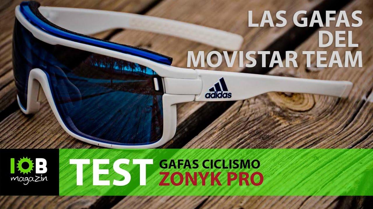 82a7f9a7f6 Adidas Zonyk Pro, las gafas del Movistar Team - YouTube
