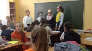 5А Урок литературы. Басни Крылова. 5 октября 2016 года.