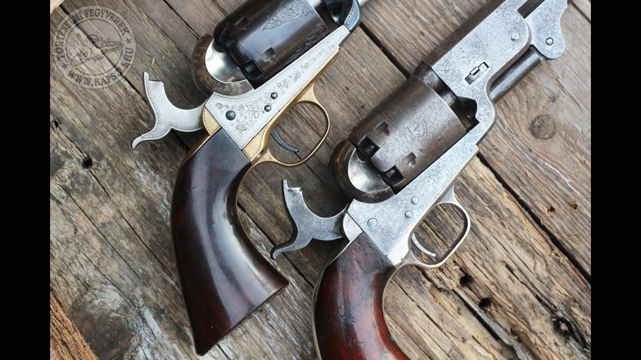 Original Colt 1851 Navy vs Uberti repro