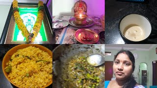 Saturday vlog pudhina rice and paramannam