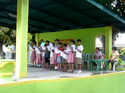 Lumambayan Pinamalayan Elementary School (Batch 2009/2010 Oath-taking Ceremony)#2