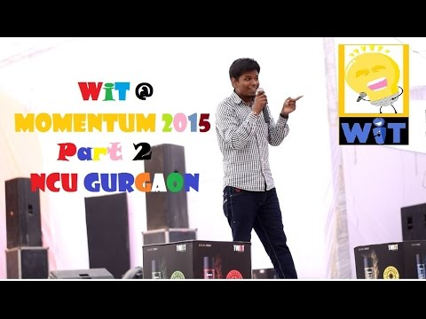 Stand Up S02 P02 - WiTTy Evening LIVE @ Momentum 2015 (Ankit Porwal on Sunny Leone and others)