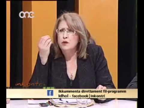 Inkontri One TV Hon Marie Louise Coleiro Preca Part1.wmv