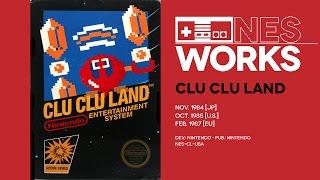 Clu Clu Land retrospective: A brief bout of Pac-mania | NES Works #008