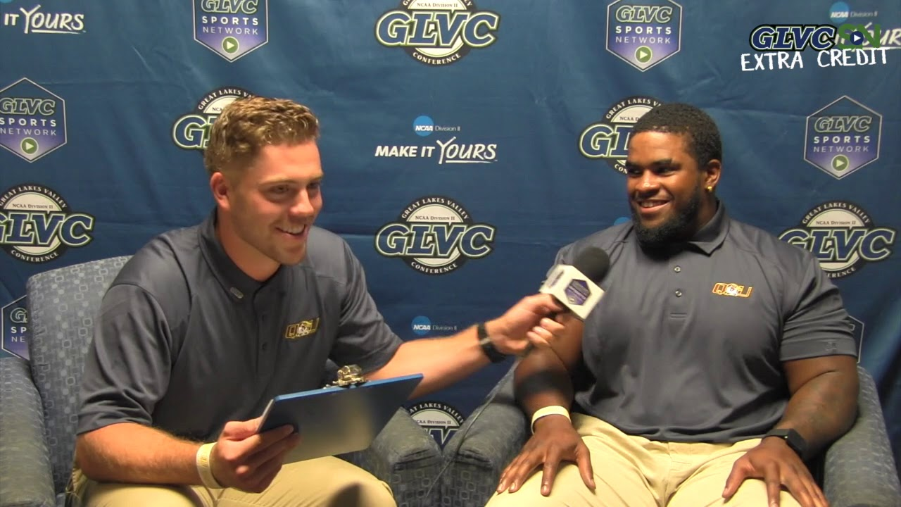 #GLVCkickoff 4 Downs: Quincy's Bryce Johnson