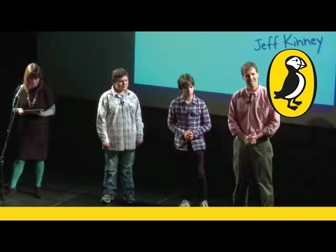 Puffin Virtually Live: Jeff Kinney with Zachary Gordon and Robert Capron