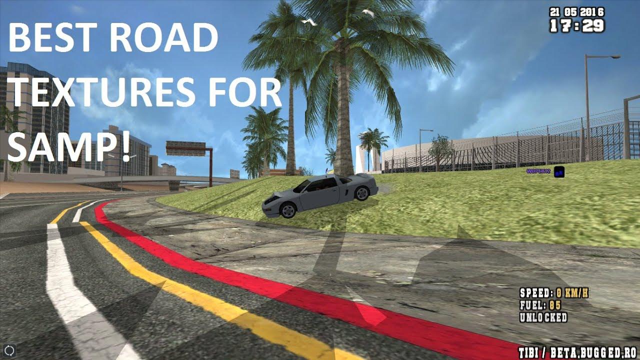 Mod de strazi pe GTA San Andreas / SAMP - Moduri SAMP