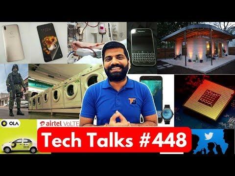 Tech Talks #448 - Vivo V9, SpaceX BFR, AirTel VoLTE, Helmet Projector, Nokia 9 Notch, Xiaomi Berlin