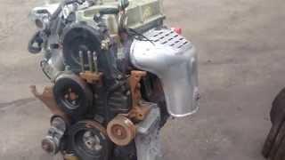 Двигатель бу 4G69 2,4 л. Митсубиши Mitsubishi galant outlander галант аутлендер