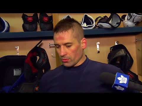 Maple Leafs Practice: Tomas Plekanec - March 9, 2018