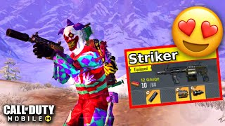 I MADE THE LEGENDARY STRIKER!! | CALL OF DUTY MOBILE | SOLO VS SQUADS