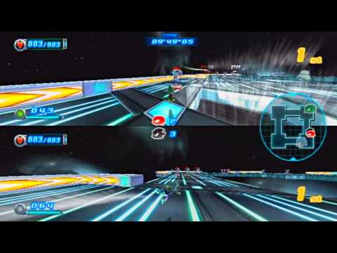 ABM: Sonic Riders ZERO GRAVITY!! Silver vs Jet HD !!