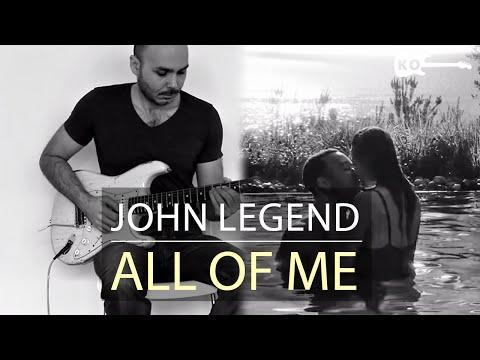 John Legend - All of Me - Electric Guitar Cover by Kfir Ochaion