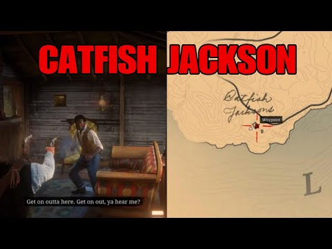 Catfish Jackson Home Robbery Location- Red Dead Redemption 2