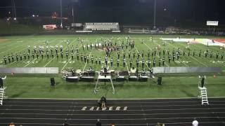 Ryle Marching Raiders in Exhibition RTOB 2016
