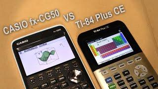 Casio fx-CG50 vs TI-84 PĮus CE Review and Comparison