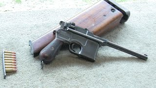 Mauser C96 Broomhandle 110 yrs old!