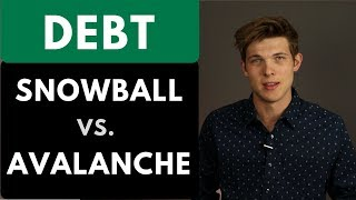 The Fastest Way To Pay Off Debt? || Debt Snowball vs Debt Avalanche