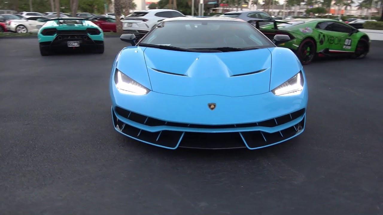 Lamborghini Centenario Vs Lamborghini Aventador Svj Youtube