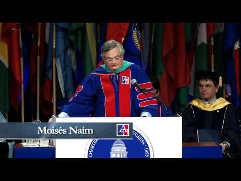 Moises Naim - American University Commencement 2013